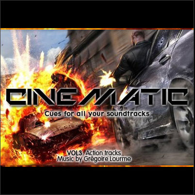 Grégoire Lourme Album CD Cinematic 3 Action