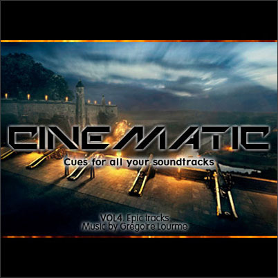 Grégoire Lourme Album CD Cinematic 4 Epic