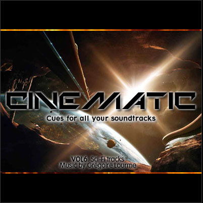 Grégoire Lourme Album CD Cinematic 6 Sci-fi