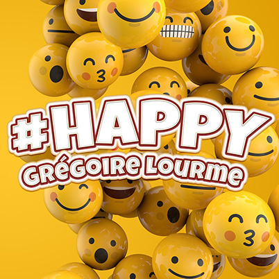 Grégoire Lourme Album CD #HAPPY