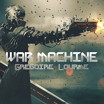 Grégoire Lourme Album CD War Machine