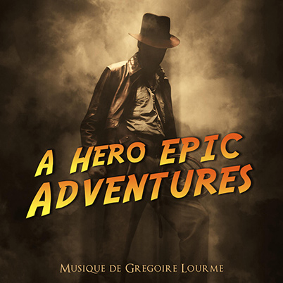 Grégoire Lourme Album CD A Hero Epic Adventures