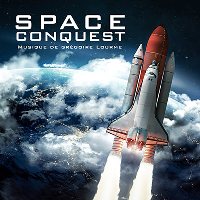 Grégoire Lourme Album CD Space Conquest